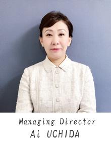 Managing Director Ai UCHIDA