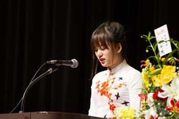 在校生ベトナム代表グエン・テイ・クイン・ホア発言